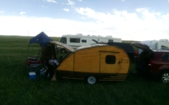 At the Belvoir Ranch outside of Cheyenne at this year's Bioblitz