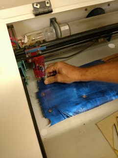 Working with the laser cutter